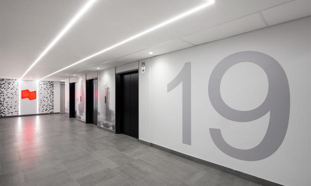 BNC 18e et 19e étage